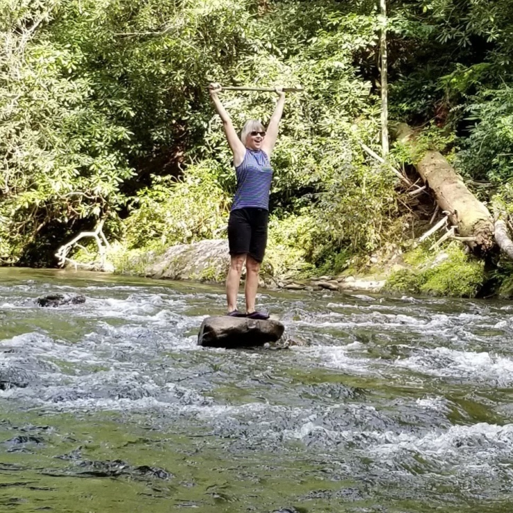 Smoky Mountains 2018 River Rock Hopping