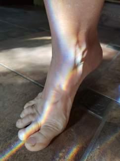 Foot rainboe 2