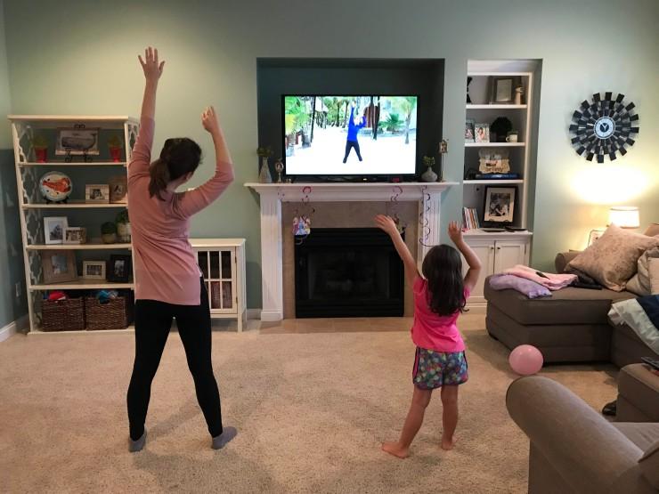 Kristen and Lyla Grace with Miranda